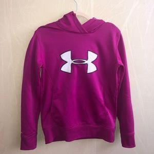 Cute purple under armor hoodie!!